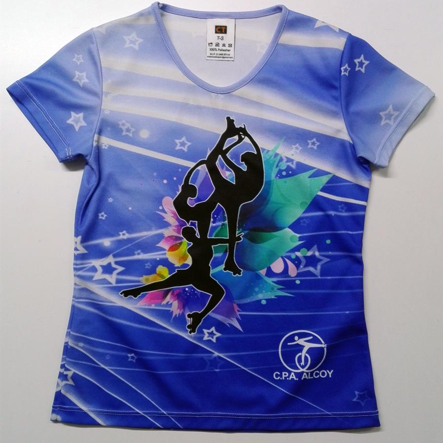 Conjunto: Camiseta Y Falda Personalizada Estampación Digital