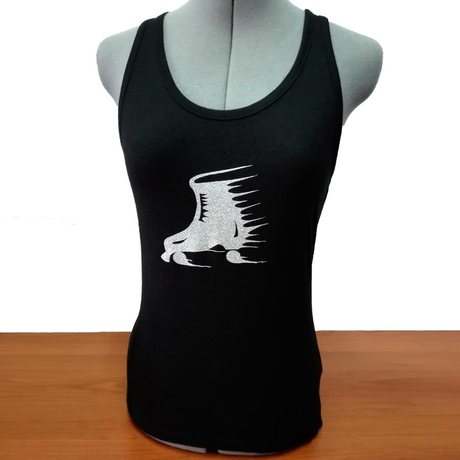 Camiseta Tirantes Espalda Nadadora